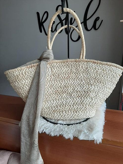 Straw Extra Large Summer Bag