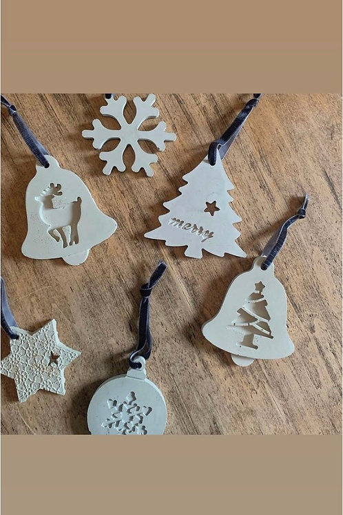 Small or Large Individual Ornaments - Fletchers Creek Concrete
