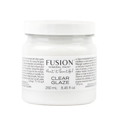 Clear Glaze - Fusion Mineral Paint