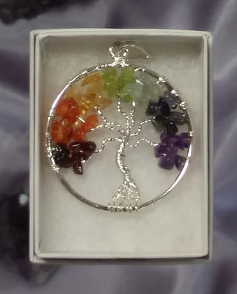 Tree of Life - Beaded Pendant