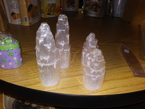 Selenite Tower 4""