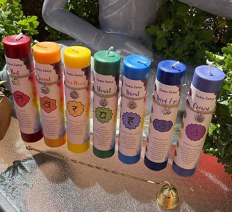 Chakra Energy Candles