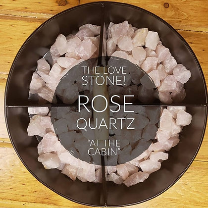 Natural Rose Quartz Chunks