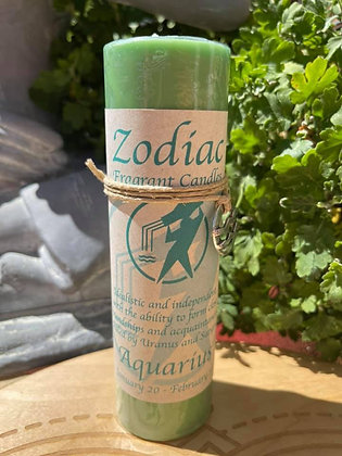 Zodiac Candles with Pendant
