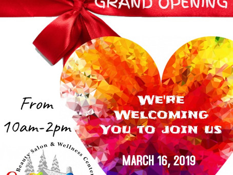 JOIN US! GRAND OPENING
