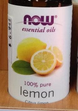 NOW Lemon Essential Oil