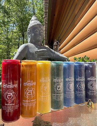 Chakra Energy Pillar Candles