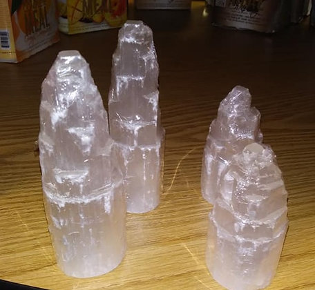 Selenite Large Tower