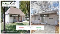 9103 W 98th Terr - Report Card- Front - North Oak Investment Rehab Lender Kansas City Flip Funding C