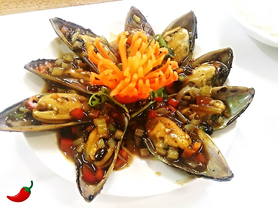 12. Mussels in Black Bean Sauce