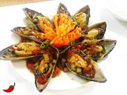12. Mussels in Black Bean Sauce