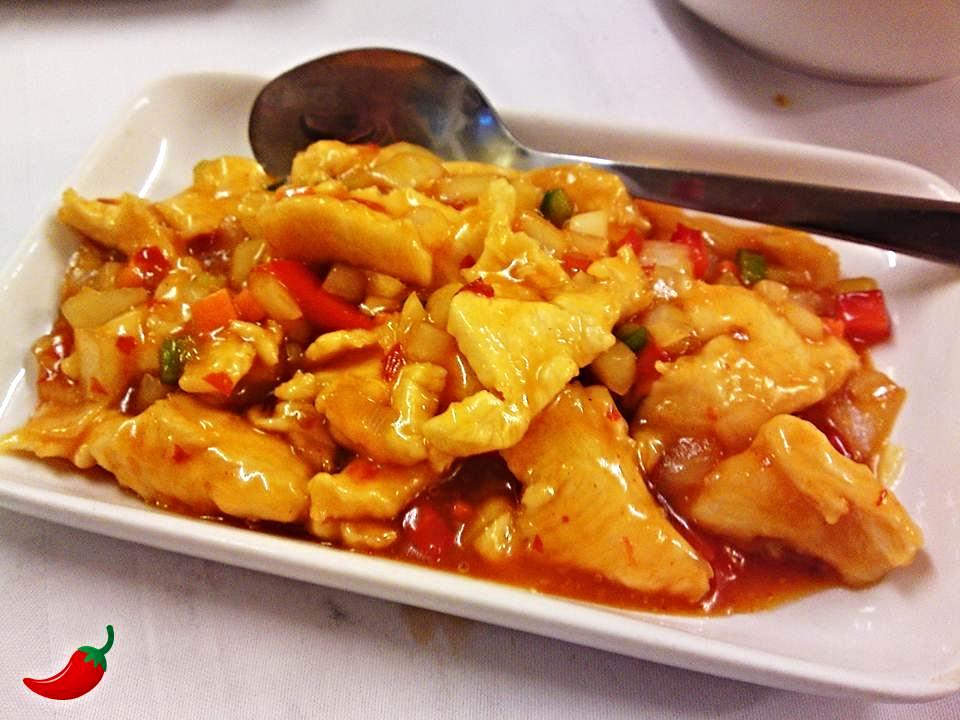 75. Chicken Szechuan Style