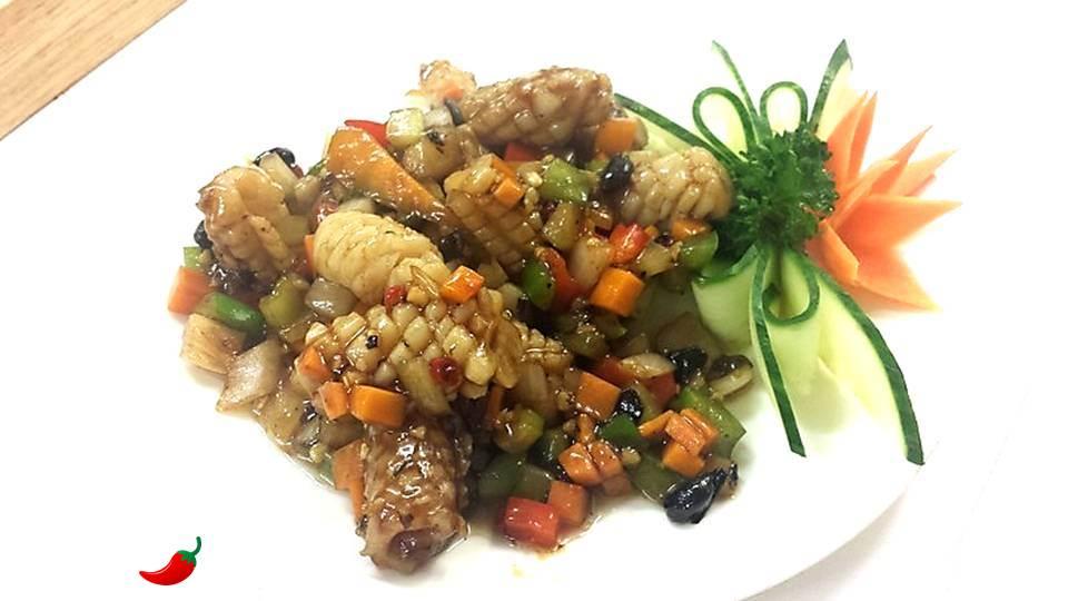 53. Squid in Black Bean Garlic Sauce