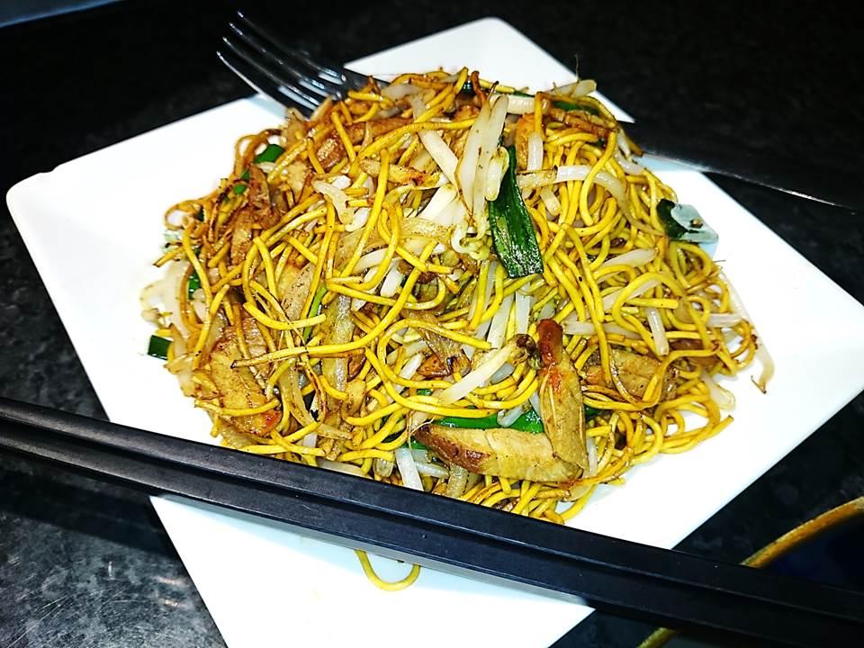 122P. Pork Chow Mein