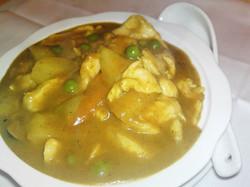 100. Curry Chicken