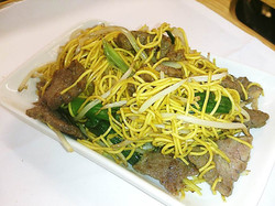 125. Beef Chow Mein