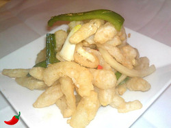 Squid with Salt and Chilli