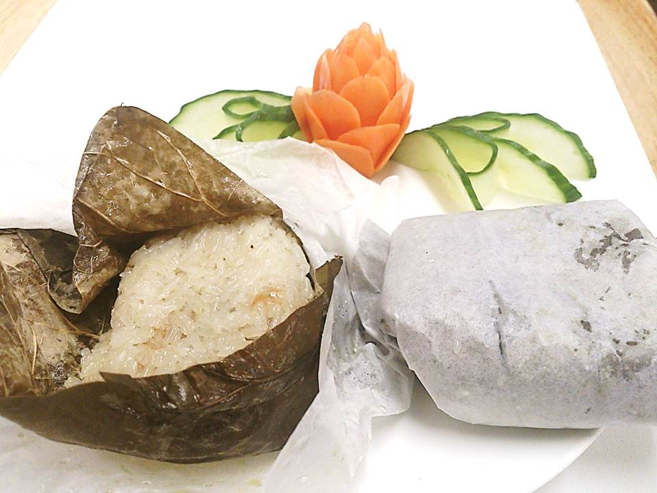 36. Sticky Rice and meat