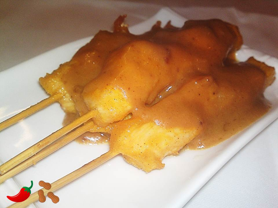 14. Satay Chicken