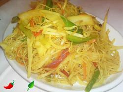 129. Vegetable Singapore Noodles