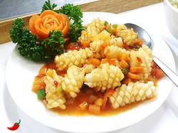 54. Squid Szechuan Style