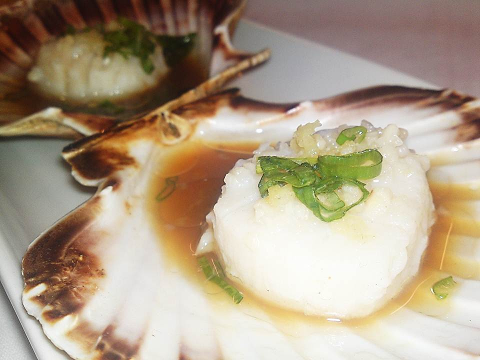 8. Steamed Scallops