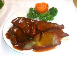 87. Roast pork Cantonese Style