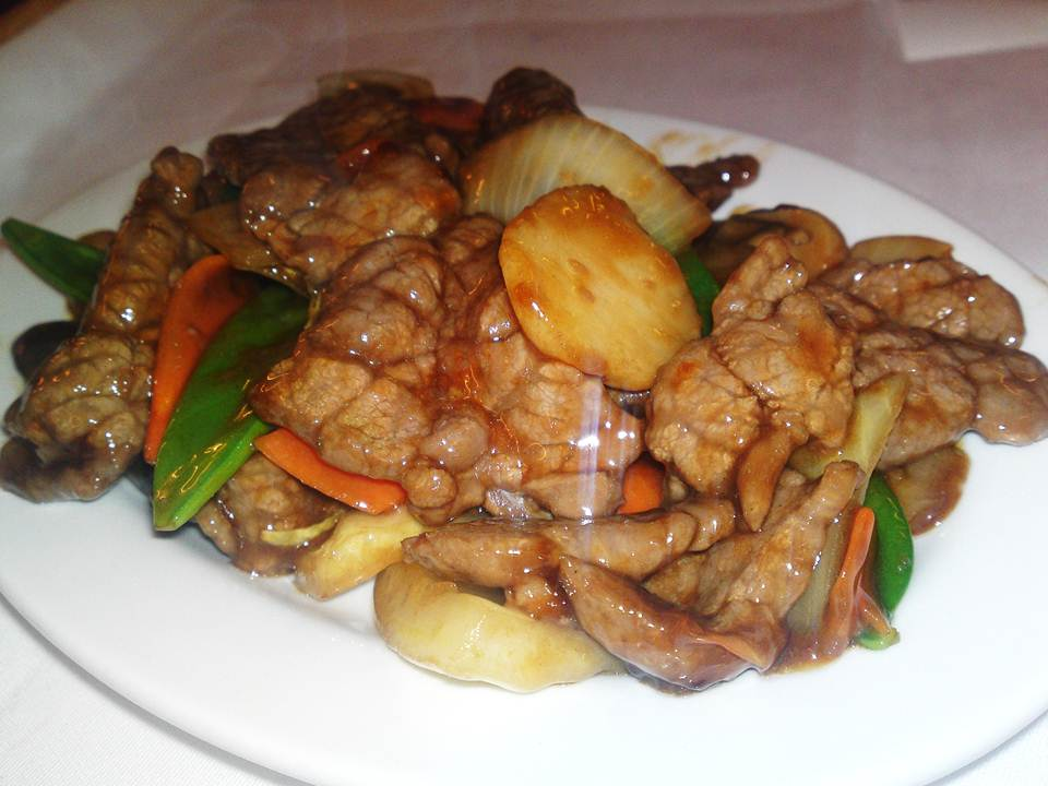 73. Beef in Oyster Sauce