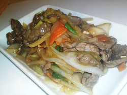 71. Beef with Ginger n Spring Onions