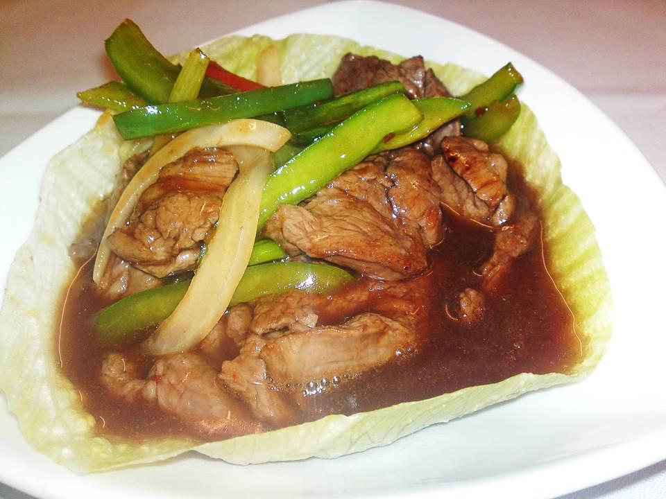 319. Fillet Steak Cantonese Style