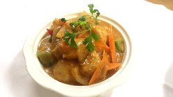 320. King Prawn in Thai Red Curry