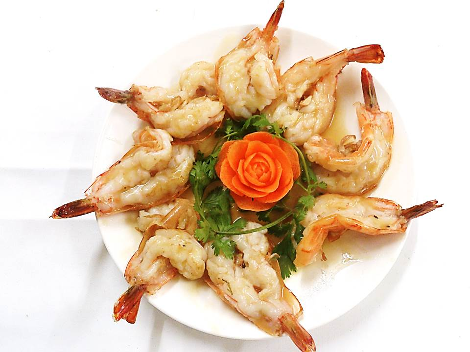 302. Tiger Prawns Butter and Garlic