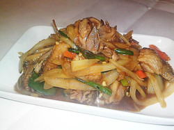 67. Duck with Ginger n spring onion
