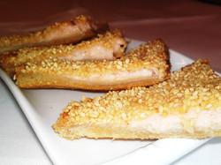 3. Sesame Prawn Toast