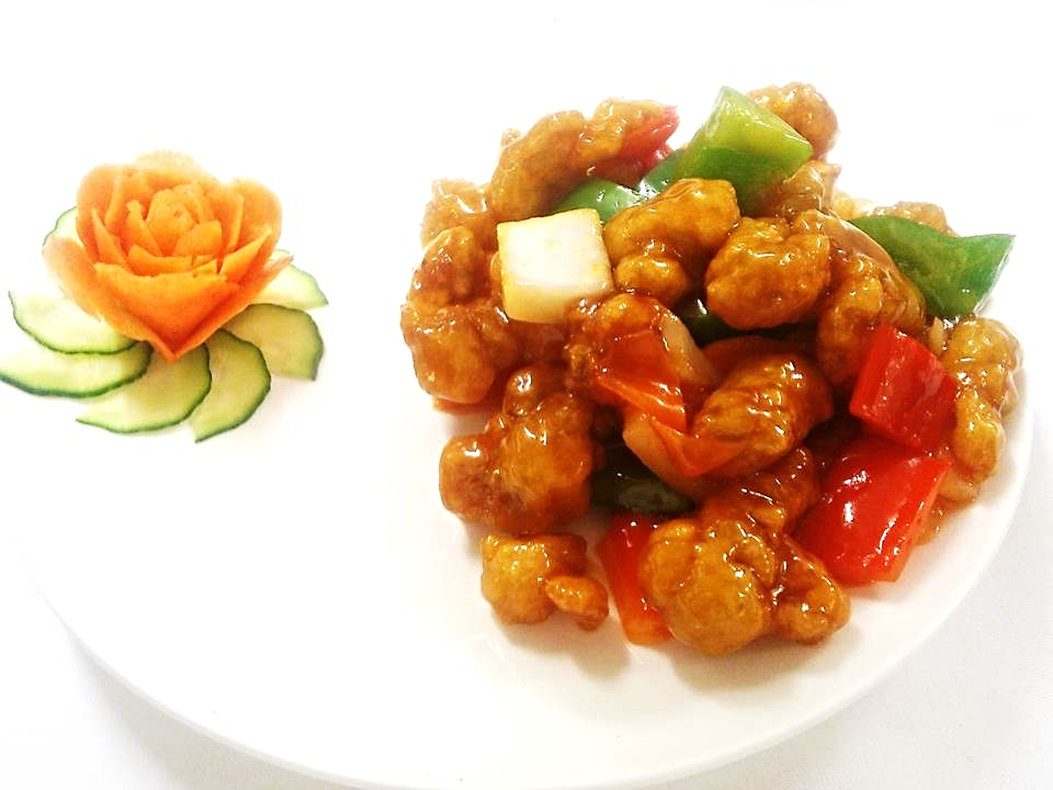 Sweet and Sour Chicken Chinese Style