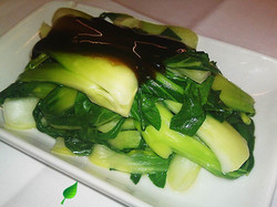 104O. Pak Choi in Oyster Sauce