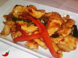 80. Chicken in Hot Chilli Bean Sauce