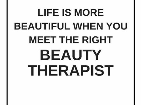 Life of a Beauty Therapist