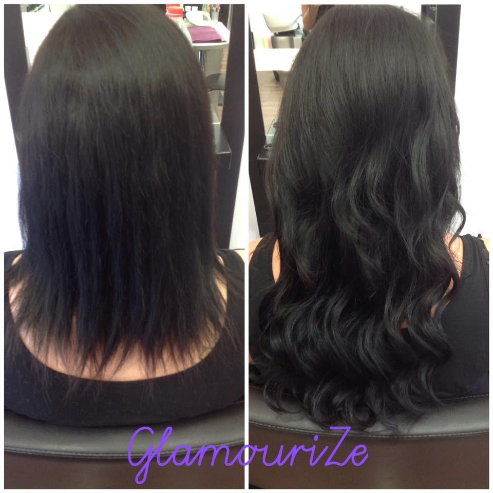 Glamourize Hair Salon Hair Extension Prices Milton Keynes