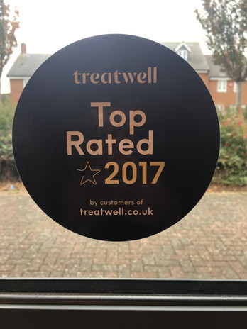 Treatwell top rated salon