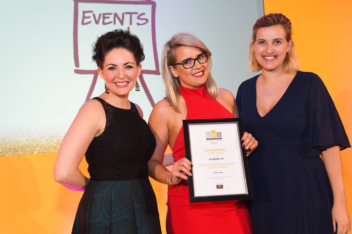 Young business person of the year Runner up