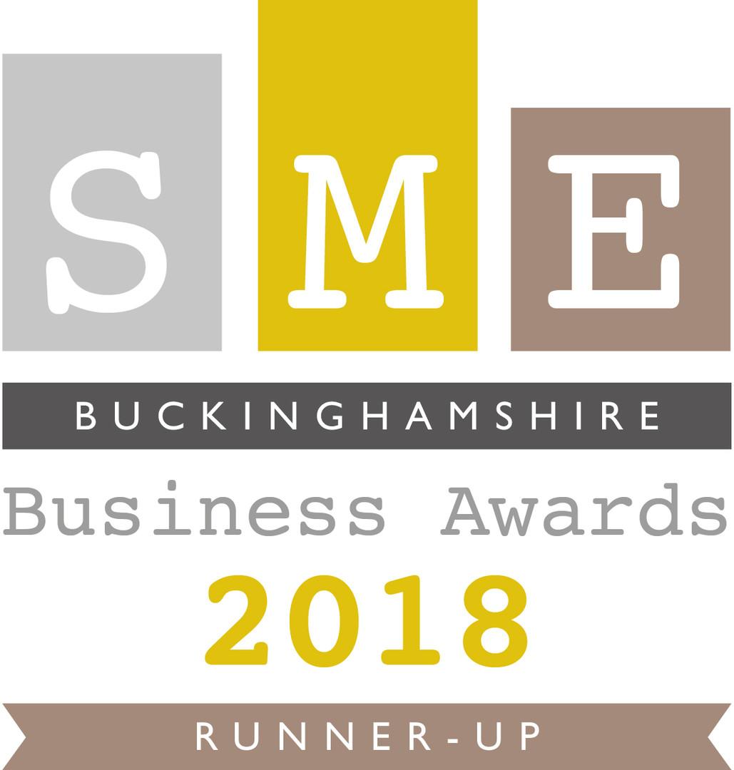 SME Buckinghamshire Business Award 2018 runner up