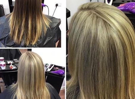 Lets talk transformation - Hair Colour