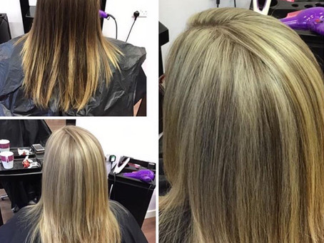 Lets talk transformation - Hair Colour