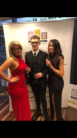Zoe, Tre and Rheannon at the awards