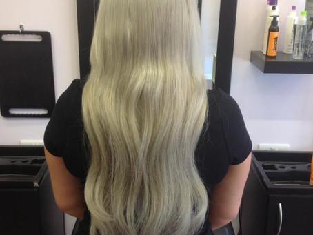 Lets talk transformation- Hair extensions