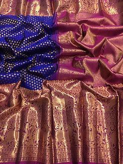 Banarasi Indian Weave Handloom Sarees.jp