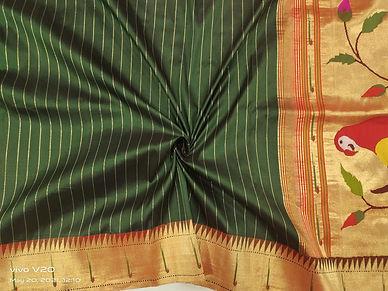 Pure Paithani Handloom Silk Srees
