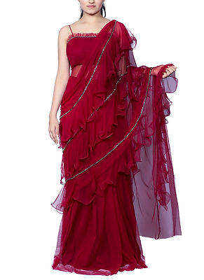 Contemporary_Indian_Designer-Net_Ruffle_