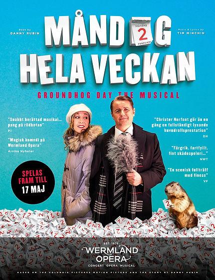 Måndag Hela Veckan - Poster - Wermland Opera